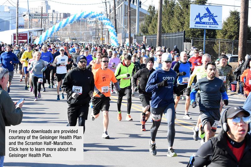 Pat Hendrick   2018 Scranton Half Marathon...April 8-photos